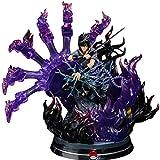 erfgh Naruto GK, God Kai Uchiha Sasuke, Chidori Susano, Figure Statue DecorationCharacter Toys Desktop Decorations