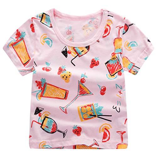 Sayla Ropa Bebe NiñA NiñO Invierno Camisetas Conjuntos Moda Bebé NiñAs NiñOs Dibujos Animados Imprimir Camiseta tee Tops Ropa
