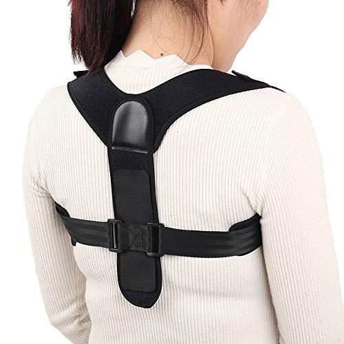 Bovenrughouding Corrector Brace, Clavicle ondersteuning voor breuken, spuiten en schouders voor mannen en vrouwen, rug- en rugondersteuning, het verstrekken van pijn verlichting voor nek, rug, schouders