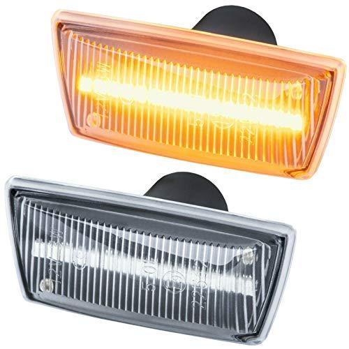 phil trade Intermitente Lateral LED Compatible con Adam Astra H J GTC Cascada Corsa D E (Cristal Transparente 71010)