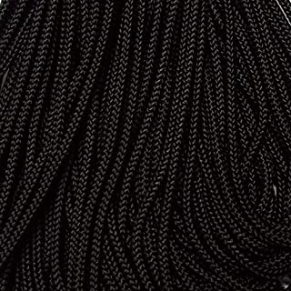 425 Paracord Jet Black 100 FT USA Made & Seller Same Day Shipping