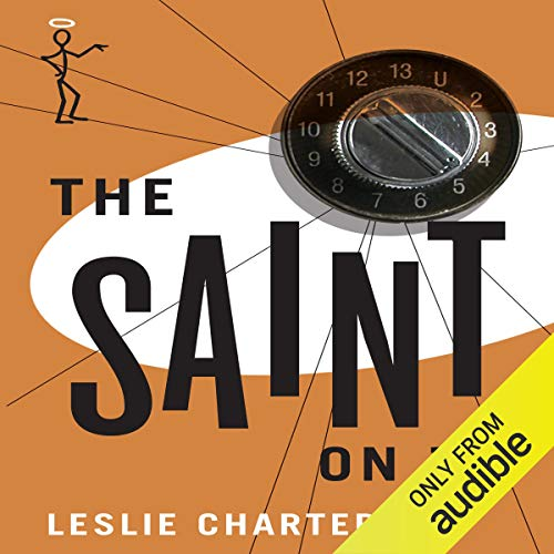 The Saint on TV audiobook cover art