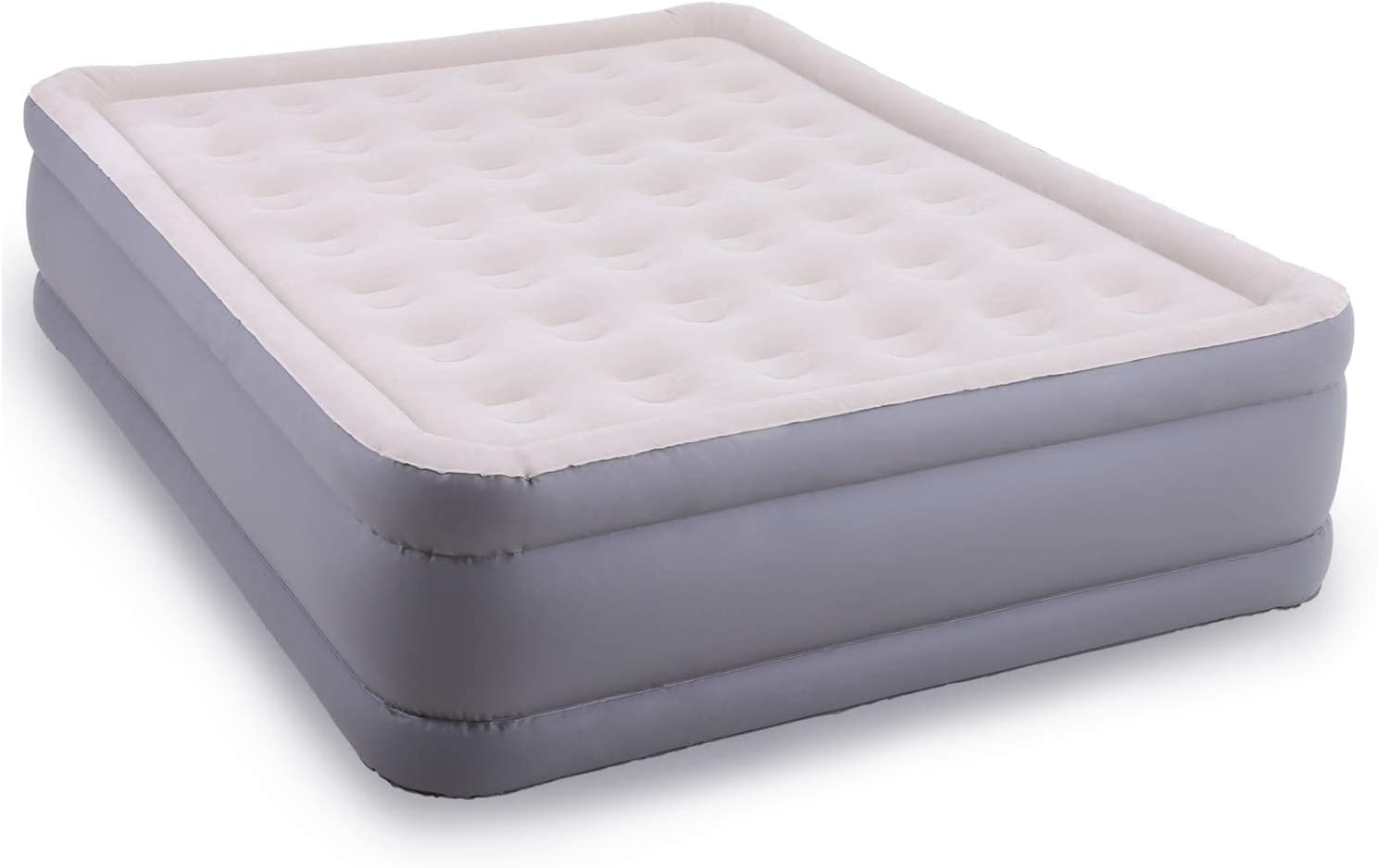 """CAMPING WORLD Air Mattresses Queen Size, Comfort Plush Airbed Build in Electric Pump Inflatable Elevated Built for Camping Bedding Home Travel with Carry Bag 78"""" x 60"""" x 18"""""""