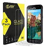3 Pièces Verre Trempé pour Samsung Galaxy Xcover 4/Xcover 4S Protecteur d'Ecran...