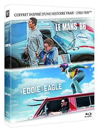 Le Mans 66 + Eddie The Eagle-Coffret 2 Films [Blu-Ray]