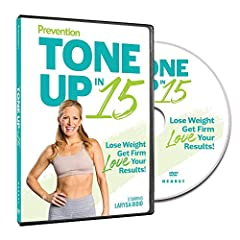 This 15-Minute Total Body Workout Strengthens You From Head to Toe! Tone Up in 15 includes five 15-minute workouts that can help you get: Strong and Firm! Fit and Fabulous! All you need: a set of dumbbells and 15 minutes, five days a week. Getting fi...