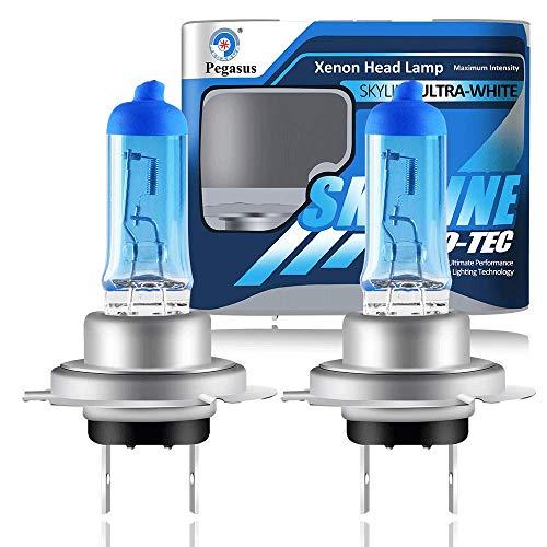 2 X H7 Bombillas para Faros Delanteros 55W Xenón Súper Blancas de Alta Potencia Para Lámpara de Automóvil - Luz Antiniebla Luz Diurna DRL
