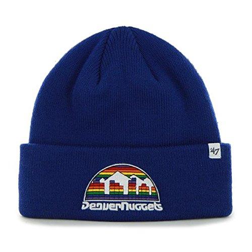 67a196c940458  47 Brand Basketball Cuff Beanie Hat - NBA Cuffed Winter Knit Toque Cap.