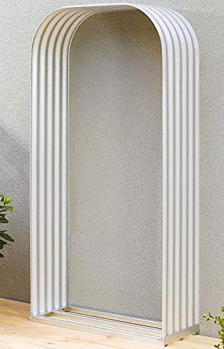 Vitavia Kaminholzregal Ardor 401, hoch, blank Kaminholzregal-Bausatz Zincalume® Bleche