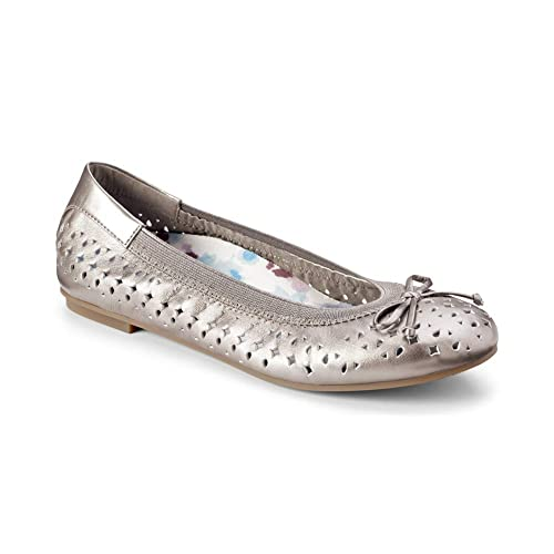 Vionic Womens Spark Surin Ballet Flat - Ladies Flats with Concealed Orthotic Arch Support