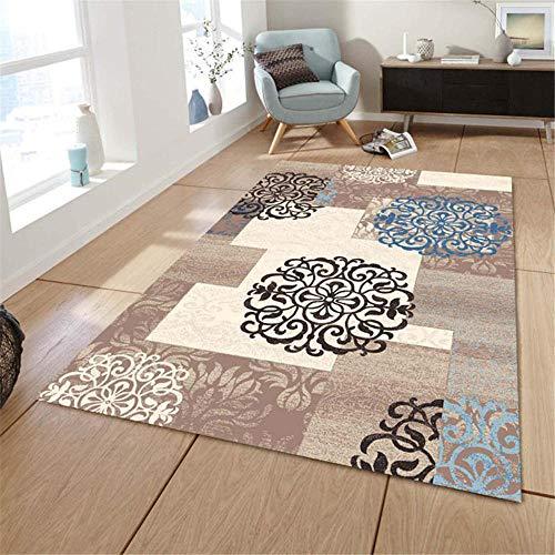 Modern Rugs & Home Carpets Absorbeert Modder deurreinigingsmat Woonkamer Tapijten absorberende deken Bruin slaapkamer woonkamer rechthoekig tapijt,Antislip isolatie eetkamer speelmat 140 * 200CM