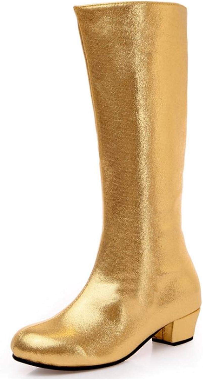 QPYC QPYC QPYC Damen Erwachsene Tanzschuhe Square Dance Schuhe Warme Winter Plus Samt Weiche Tanzschuhe , Gold , 37 B077GTQKJL  Stilvoll und lustig 7b9c10