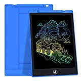 JefDiee Kids Drawing Boards LCD Writing Tablet, 10 Inch Colorful Screen Electronic Learning and Education Drawing Pads Doodle and Scribbler Board Toys Gifts for Girls Boys (Blue)