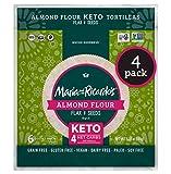 Maria & Ricardo's KETO Tortillas   Almond Flax & Seeds   Low Carb   Grain Free   Paleo   Non GMO  ...