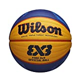 Wilson 3x3 Fiba Balon Baloncesto, Unisex Adulto, Amarillo, 6