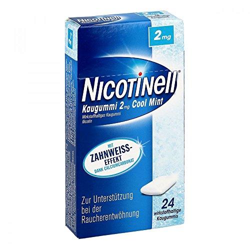 NICOTINELL Kaugummi Cool Mint 2 mg 24 St Kaugummi