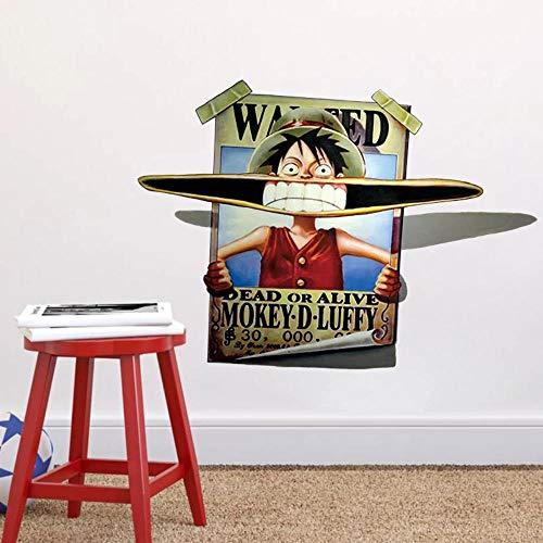 3d cartoon wandaufkleber wohnzimmer schlafzimmer wanddekoration hauptdekoration kunst wandbild 45 * 60cm