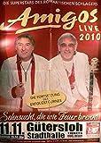 Amigos - Gütersloh 2010 Konzert-Poster A1