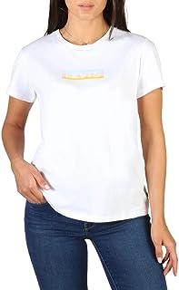 Tee Shirt Levis 17369 The Perfect Tee Box Tab Gradient White +