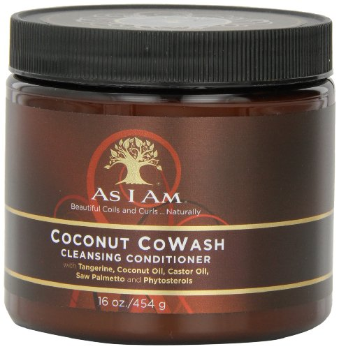 As I Am Coconut Cowash Cleansing Conditioner, 16 Ounce (Pack of 1)