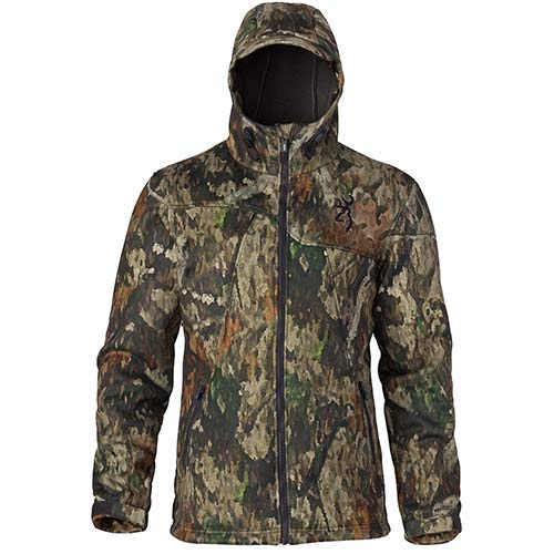 Browning 3048523202 Hell's Canyon Speed Hellfire-Fm Insulated Gore Windstopper Jacket, Atacs Tree/Dirt Extreme, Medium