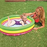 HJQFDC Faltender Schwimmbecken, aufblasbarer Kinderbecken, Ozean-Ballpool, Paddel Pool, Sandpool der Kinder, Whirlpool, Gartenpool Party Spielzeug Peng MEI