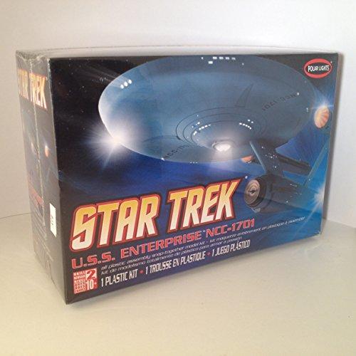 STAR TREK U.S.S. ENTERPRISE NCC-1701 POLAR LIGHTS SNAP KIT