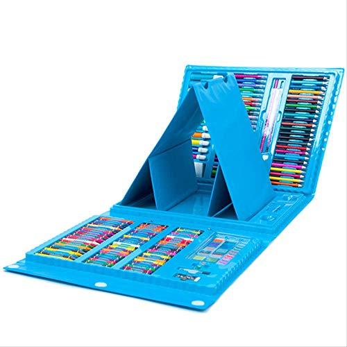 NOBRAND WHSG Kinderen Aquarel Pen Dubbele Tekening Board Crayon Kleur Lood Schilderen benodigdheden Leerlingen Puzzel Schilderen 176 Aquarel Pen Set