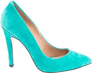 Mint Yeşili Stiletto Topuklu Kadın Ayakkabı