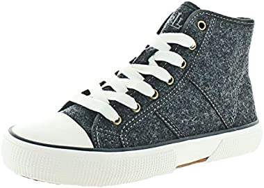 Lauren by Ralph Lauren January II Women's High Top Gray Size 7.5