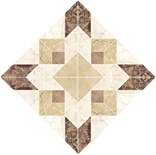 Eanpet Pack of 20pcs Decorative Tile Stickers 3x3 Peel and Stick Adhesive Floor Covering Wall Sticker Mosaic Brick Decoration for Kitchen Bathroom Living Room Bedroom