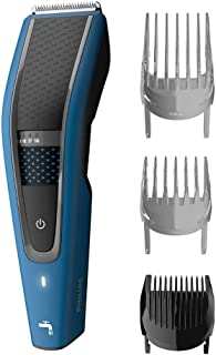 Philips Washable Hair Clipper Series 9000 with 28 Length Settings (0.5-28mm) & 75 min Cordless Use/8hr Charge, HC5612/15
