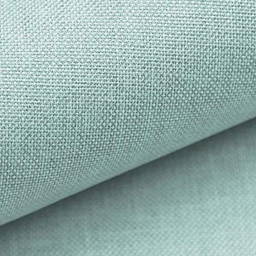 NOVELY® LUSO | 1 lfm | Feiner Stoff Polsterstoff Bezugsstoff Meterware Möbelstoff (29 Mint Grün)