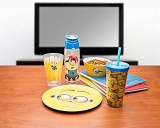 عروض Zak Designs DESD-0320 Minions 6-inch Plastic Soup Bowl (25 oz.), Lance
