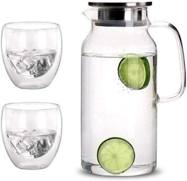 SSCYHT sold out Glass Kettle 2L jug - Carafe Container Water Max 55% OFF