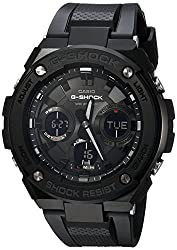 Tough solar powered, shock resistant, 200-meter water resistance, neobrite, double led light, world time, 31 time zones, second stopwatch, countdown timer, 5 daily alarms Hourly time signal, hand shift feature, battery level indicator, power saving, ...