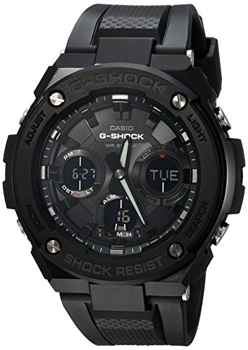 G-Shock Men's Analog Digital GSTS100G-1B G-Steel Watch Black