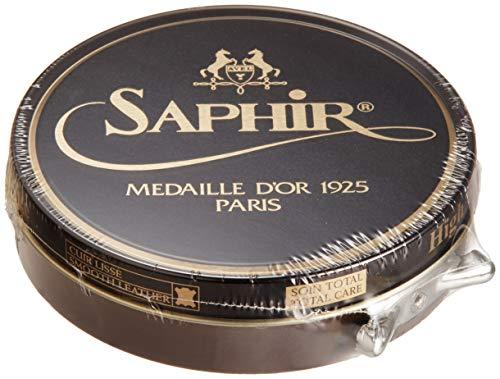 Saphir Medaille d'Or Pate De Luxe Shoe Polish 100ml - Medium Brown