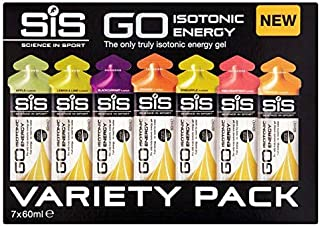 SiS GO Isotonic Gel Variety Pack Sachets - 7 x 60ml