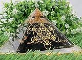 Shungite Large Orgonite Pyramid with...