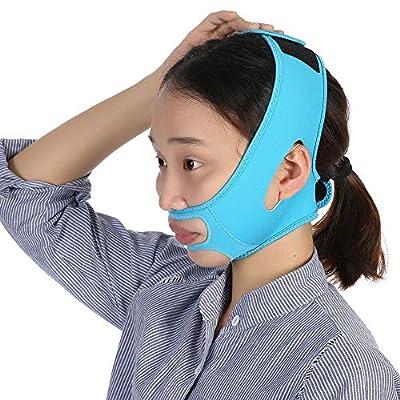 Face Slimming Bandage Belt Mask Face-Lift Masseter Muscle Strap Face Shaper Sleeping Massage by Yuyte