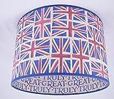 Tophouse-Design - Lampenschirme & Kissen Handgemachte Lampenschirm 28cm - Emma Bridgewater Union Jack