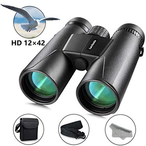 pas cher un bon Jumelles puissantes pour adultes, jumelles compactes Lachessis 12 × 42 HD Low Night Vision BAK4…