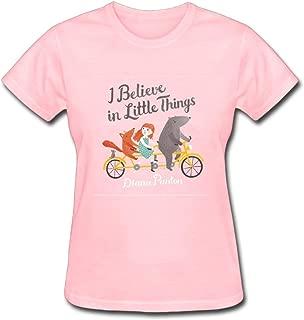 Diana Panton I Believe in Little Things Women's Cotton Short Sleeve T-Shirt