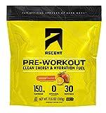 ASCENT Orange Mango Pre-Workout Hydration Fuel, 11.6 OZ