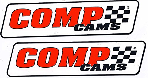 Comp Cams Racing Decals Stickers 7 Inches Long Size Set of 2