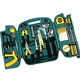 SSCYHT Kit Herramientas para, Paquete de combinación de Herramientas manuales Generales para el hogar y reparación automática con Estuche de plástico para Caja de Herramientas de 27 Piezas