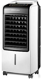 Climatizador Evaporativo,Climatizador Portátil, Refrigerador de aire por evaporación y ecología móvil for oficinas domésticas, ventilador de aire acondicionado de ahorro de energía de 3 velocidades co