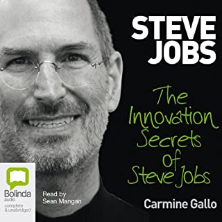 Innovation Secrets of Steve Jobs audiobook cover art