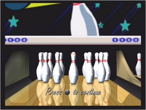 Strike Force Bowling - Gamecube